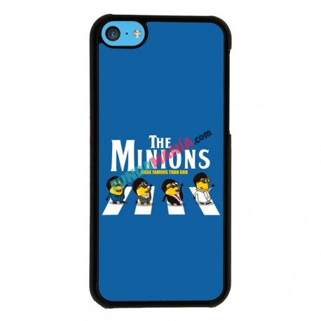 Funda Iphone 5C minions beatles