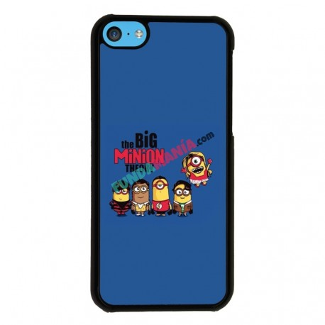 Funda Iphone 5C minions big bang theory