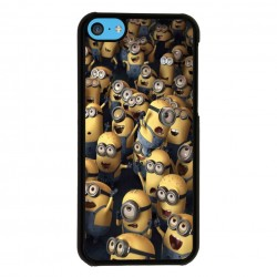 Funda Iphone 5C minions concierto