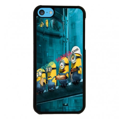 Funda Iphone 5C minions almuerzo