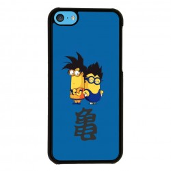 Funda Iphone 5C minions goku vegeta