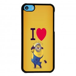 Funda Iphone 5C i love minions