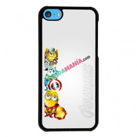 Funda Iphone 5C minions vengadores