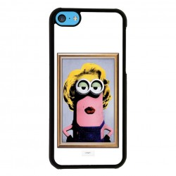Funda Iphone 5C minions vintage