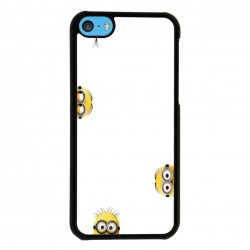 Funda Iphone 5C minions curiosos