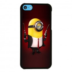 Funda Iphone 5C minions reservoir dogs