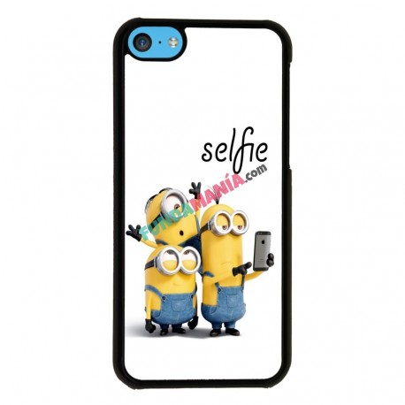 Funda Iphone 5C minions selfie