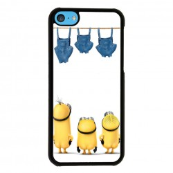 Funda Iphone 5C minions haciendo colada