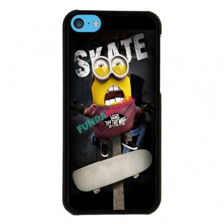Funda Iphone 5C minions skate