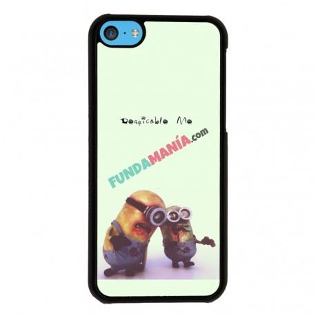 Funda Iphone 5C minions zombis