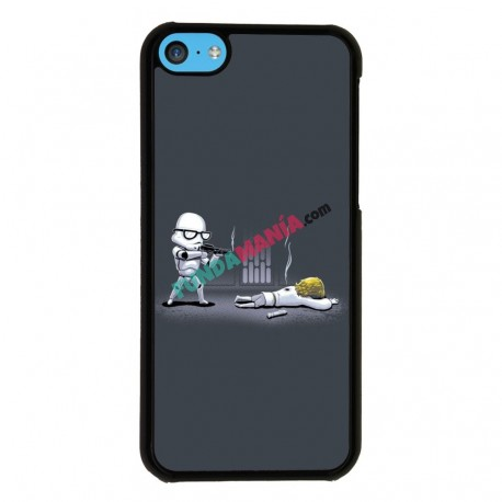 Funda Iphone 5C star wars stromtrooper