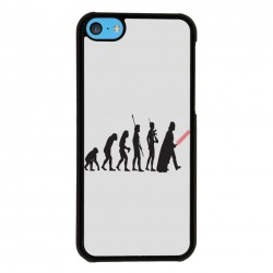 Funda Iphone 5C star wars evolution
