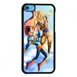 Funda Iphone 5C superman vs goku