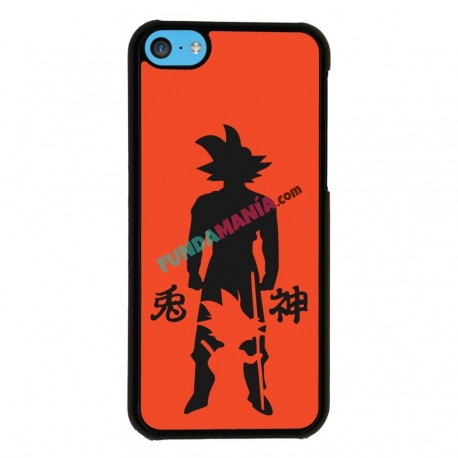 Funda Iphone 5C goku evolution