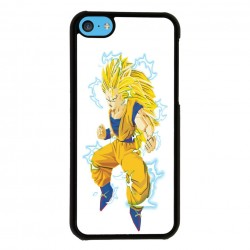Funda Iphone 5C goku super saiyan