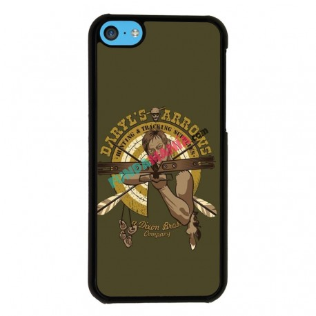 Funda Iphone 5C the walking dead daryl ballesta