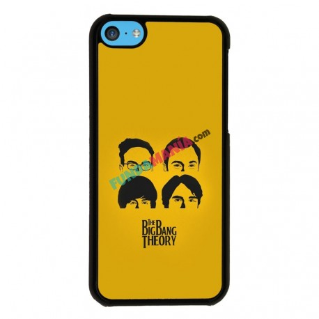 Funda Iphone 5C the big bang theory beatles
