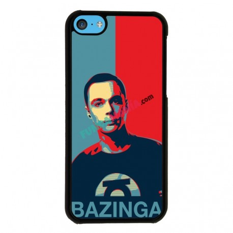 Funda Iphone 5C sheldon bazinga