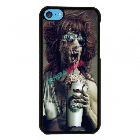 Funda Iphone 5C zombi starbucks