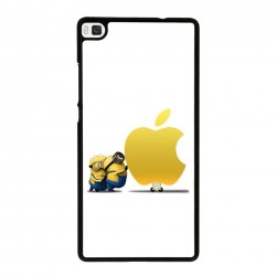 Funda Huawei P8 Lite minions apple