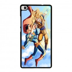 Funda Huawei P8 Lite superman vs goku