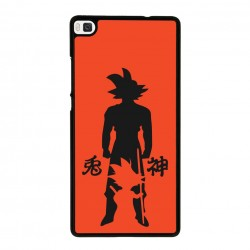 Funda Huawei P8 Lite goku evolution
