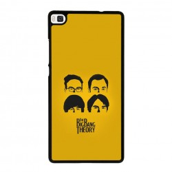 Funda Huawei P8 Lite the big bang theory beatles