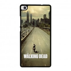 Funda Huawei P8 Lite the walking dead intro