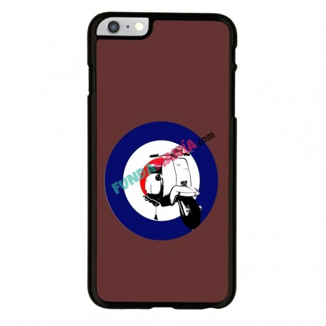 Funda Iphone 6 Iphone 6s vespa marrón