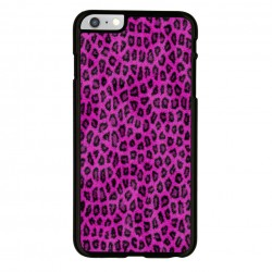 Funda Iphone 6 Iphone 6s estampado piel de leopardo rosa