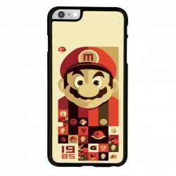 Funda Iphone 6 Iphone 6s mario bros vintage