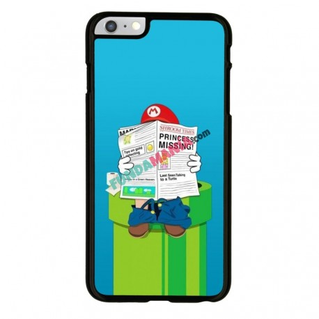 Funda Iphone 6 Iphone 6s mario bros wc