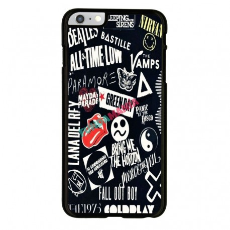 Funda Iphone 6 Iphone 6s bandas míticas rock