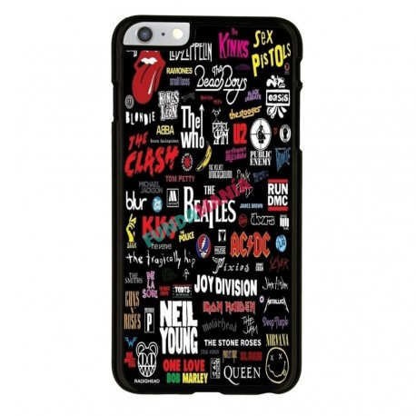 Funda Iphone 6 Iphone 6s bandas míticas pop rock