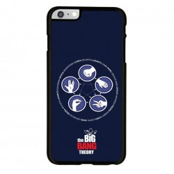 Funda Iphone 6 Iphone 6s the big bang theory, lagarto spock