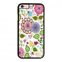 Funda IPhone 6 plus Iphone 6s plus estampado de flores hippie