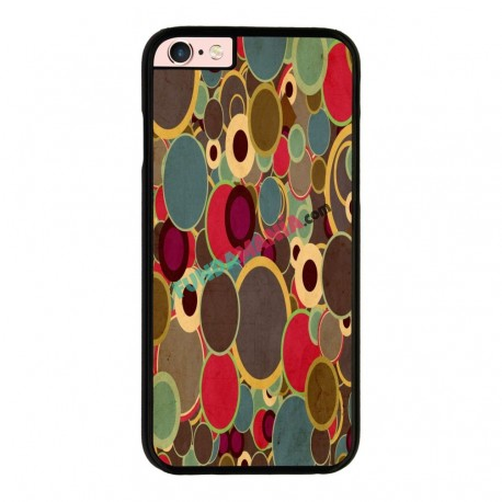 Funda IPhone 6 plus Iphone 6s plus estampado topos de colores