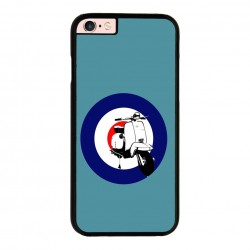 Funda IPhone 6 plus Iphone 6s plus vespa azul