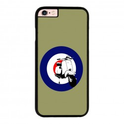 Funda IPhone 6 plus Iphone 6s plus vespa verde