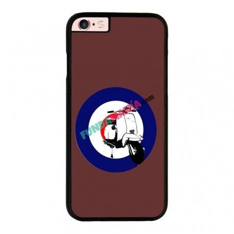 Funda IPhone 6 plus Iphone 6s plus vespa marrón