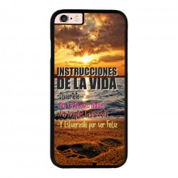 Funda Iphone 6 plus Iphone 6s plus frase instrucciones de la vida