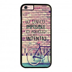 Funda Iphone 6 plus Iphone 6s plus frase sobre lo imposible