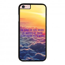 Funda Iphone 6 plus Iphone 6s plus frase vivir en las nubes