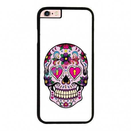 Funda Iphone 6 Plus Iphone 6s Plus calavera mexicana ojos rosa