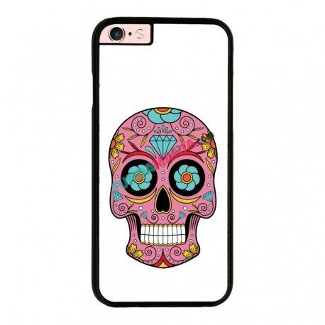 Funda Iphone 6 Plus Iphone 6s Plus calavera mexicana rosa