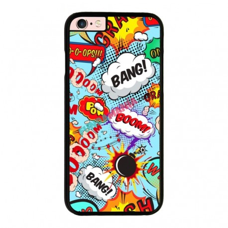 Funda Iphone 6 plus Iphone 6s plus onomatopeyas cómic