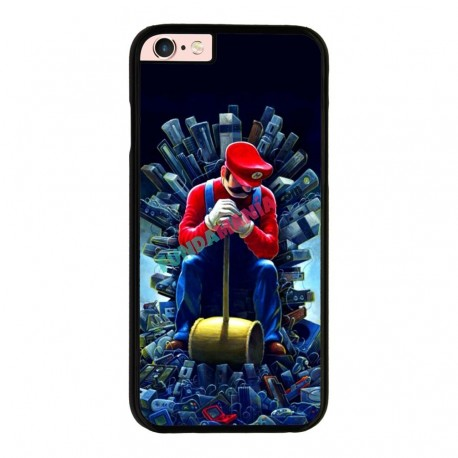 Funda Iphone 6 plus Iphone 6s plus mario trono