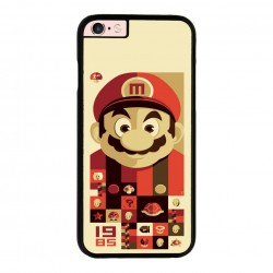 Funda Iphone 6 plus Iphone 6s plus mario bros vintage