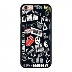Funda IPhone 6 plus Iphone 6s plus bandas de rock míticas