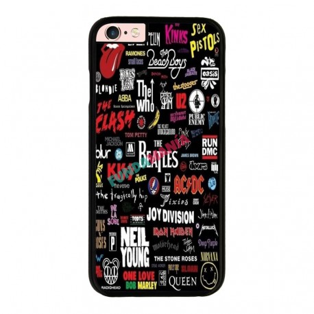 Funda IPhone 6 plus Iphone 6s plus bandas pop rock míticas